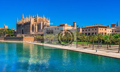 Spanien Palma de Mallorca Ciudad Iglesia Kathedrale La Seu