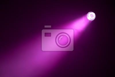 spotlight púrpura