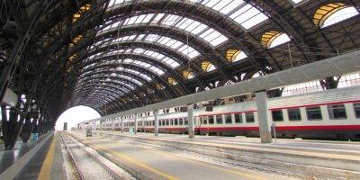 Cuadro Stazione Centrale di Milano