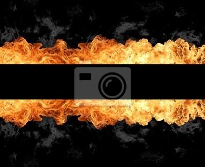 Cuadro Stripe Fuego