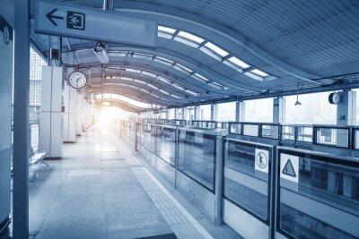 Cuadro Subway station in chongqing ,china