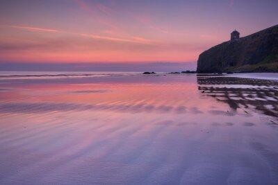 Sunrise over Downhill Beach on the Causeway Coast, Northern Ireland