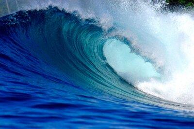 Cuadro Surf de olas azules del océano