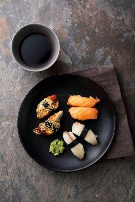 Cuadro Sushi fresco con pescado
