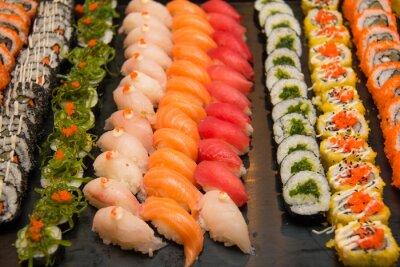 Cuadro Sushi japonés clasificado