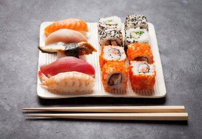 Cuadro Sushi y set de makis