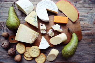 Cuadro Tabla de quesos