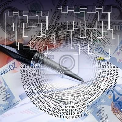tablas financieras y gráficos