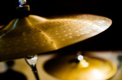 Cuadro Tambores, platillos, instrumentos