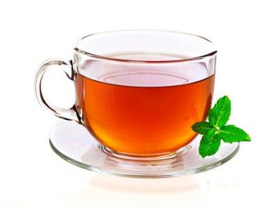 Cuadro Taza de té con menta
