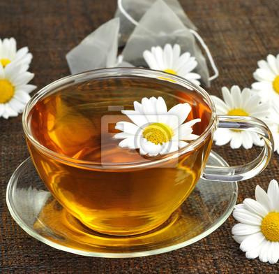 Cuadro té de manzanilla