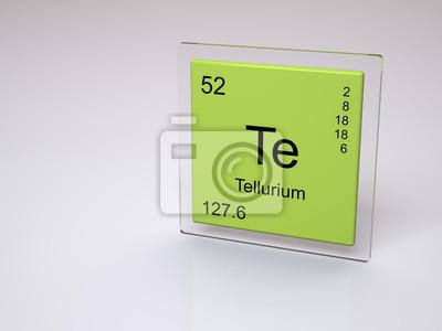Telurio te smbolo elemento qumico de la tabla peridica cuadro telurio te smbolo elemento qumico de la tabla peridica urtaz Gallery