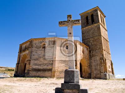 Templarios Iglesia Vera Cruz, Segovia, España