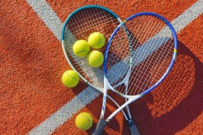 Cuadro Tennis, Tennis Ball, Backgrounds.