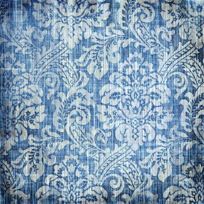 textura de mezclilla de la vendimia con los patrones de clase