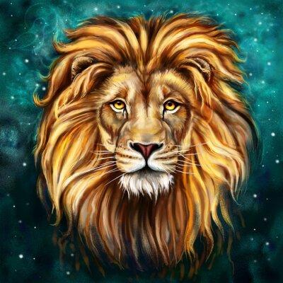 Cuadro tlo león
