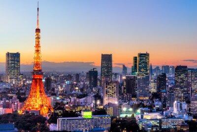 Cuadro Tokio, Japón.