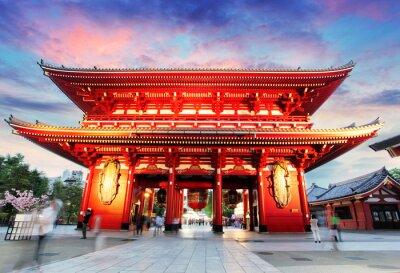 Cuadro Tokio - Japón, Templo de Asakusa