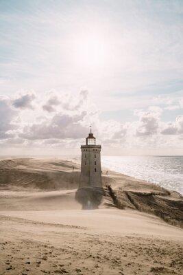 Cuadro Tormenta de arena en el faro