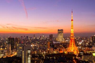 Cuadro Torre de Tokio, Tokio, Japón