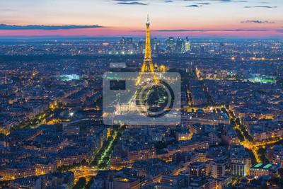 Cuadro Torre Eiffel en París, Francia