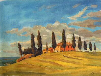 Cuadro Toscana