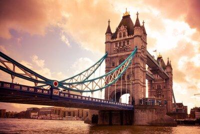 Cuadro Tower Bridge de Londres, Reino Unido