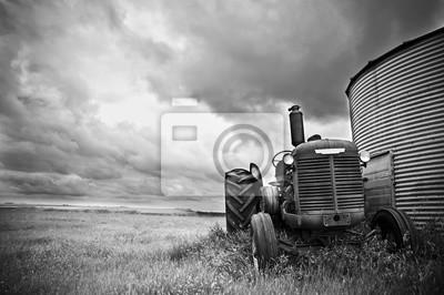 Cuadro tractor