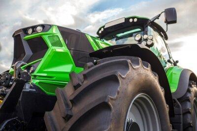 Cuadro Tractor moderno llano