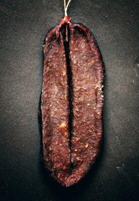 Cuadro Tradicional cecina armenia fumaba sudzhuk salchicha con spic