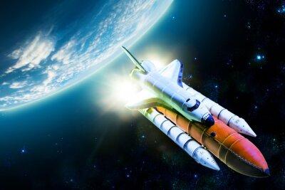 Cuadro Transbordador espacial
