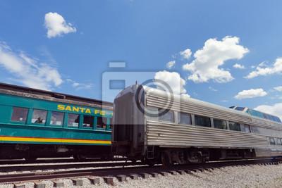 Tren en la estación de Santa Fe
