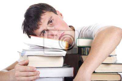 tristeza estudiante