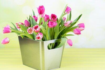 Cuadro Tulpenstrauß en el florero