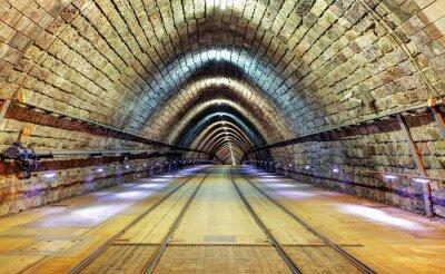 Cuadro Túnel de ferrocarril