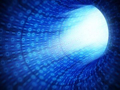 Cuadro Túnel del código binario