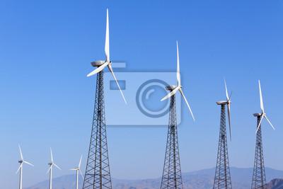 Turbinas de viento en Energía Renovable