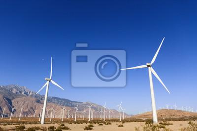 Turbinas de viento en Palm Springs, CA