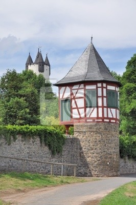 Turm der Stadtmauer en Hanau-Steinheim