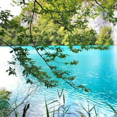 turquesa lago (Croacia)