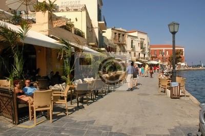 Uferpromenade en Chania, Creta