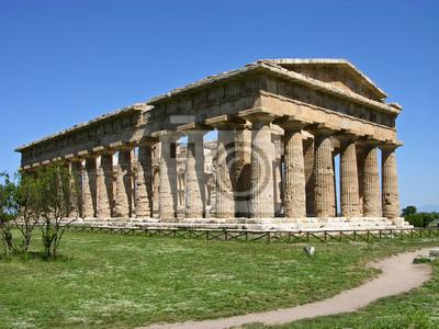 Un templo griego en el sur de Italia