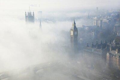 Cuadro Una densa niebla golpea Londres