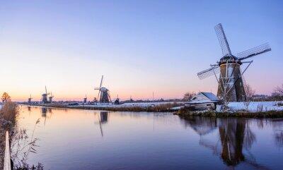 Cuadro Una mañana de invierno en los Países Bajos