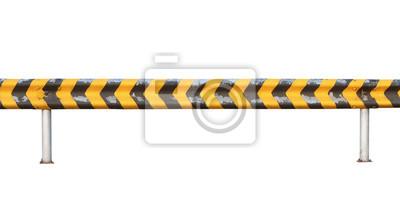 Cuadro Valla de carretera (con trazado de recorte) aislado en fondo blanco e975a17b6ff1