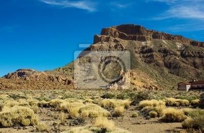 Valle del volcán Teide, Tenerife, España