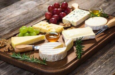 Cuadro Varios tipos de queso