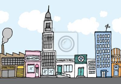Resultado de imagen para dibujos a lápiz de ciudades