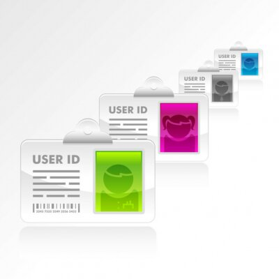 Cuadro Vector ID de