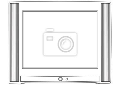 Cuadro Vector TV